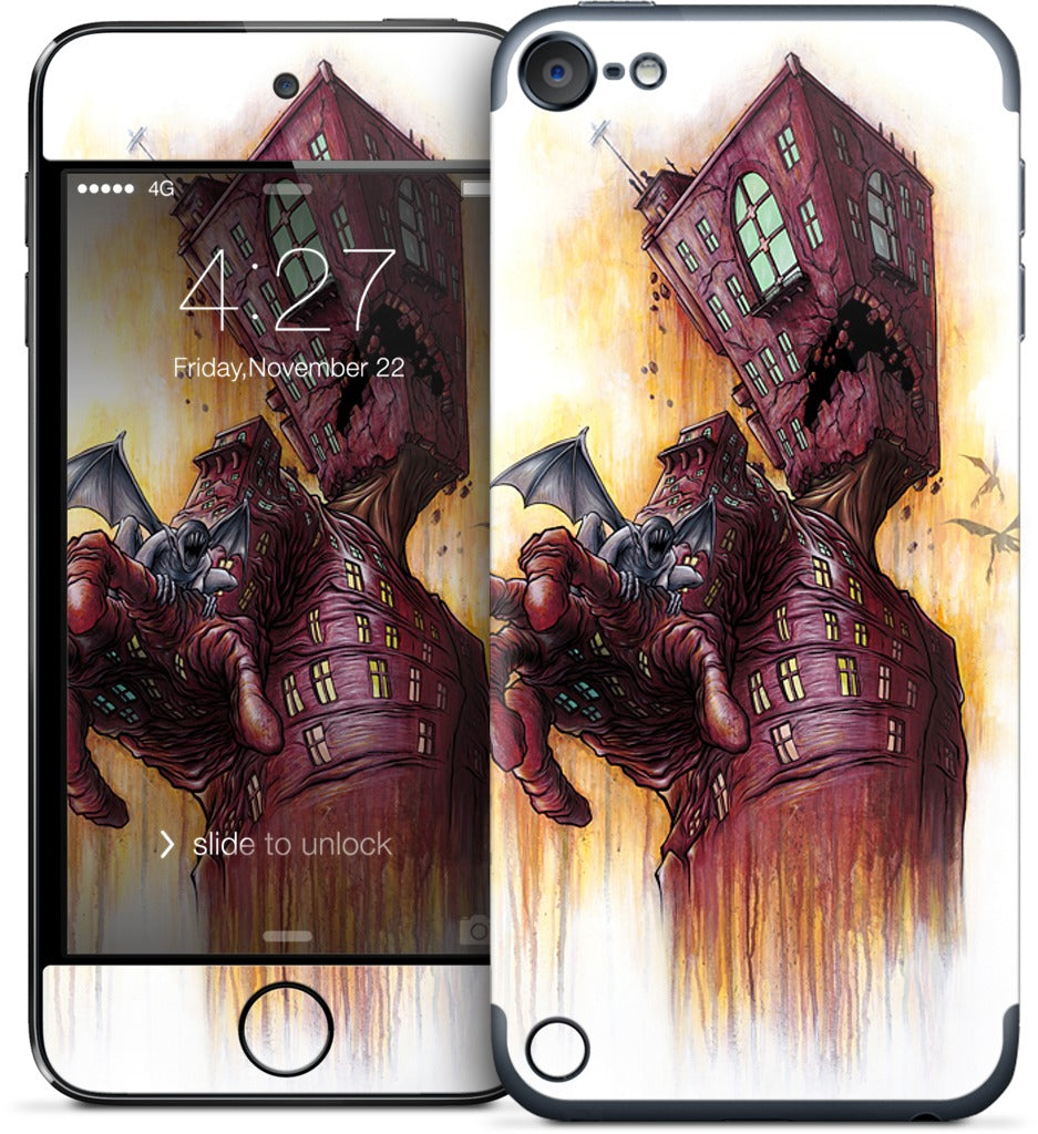 Breathing Architecture iPod Skin