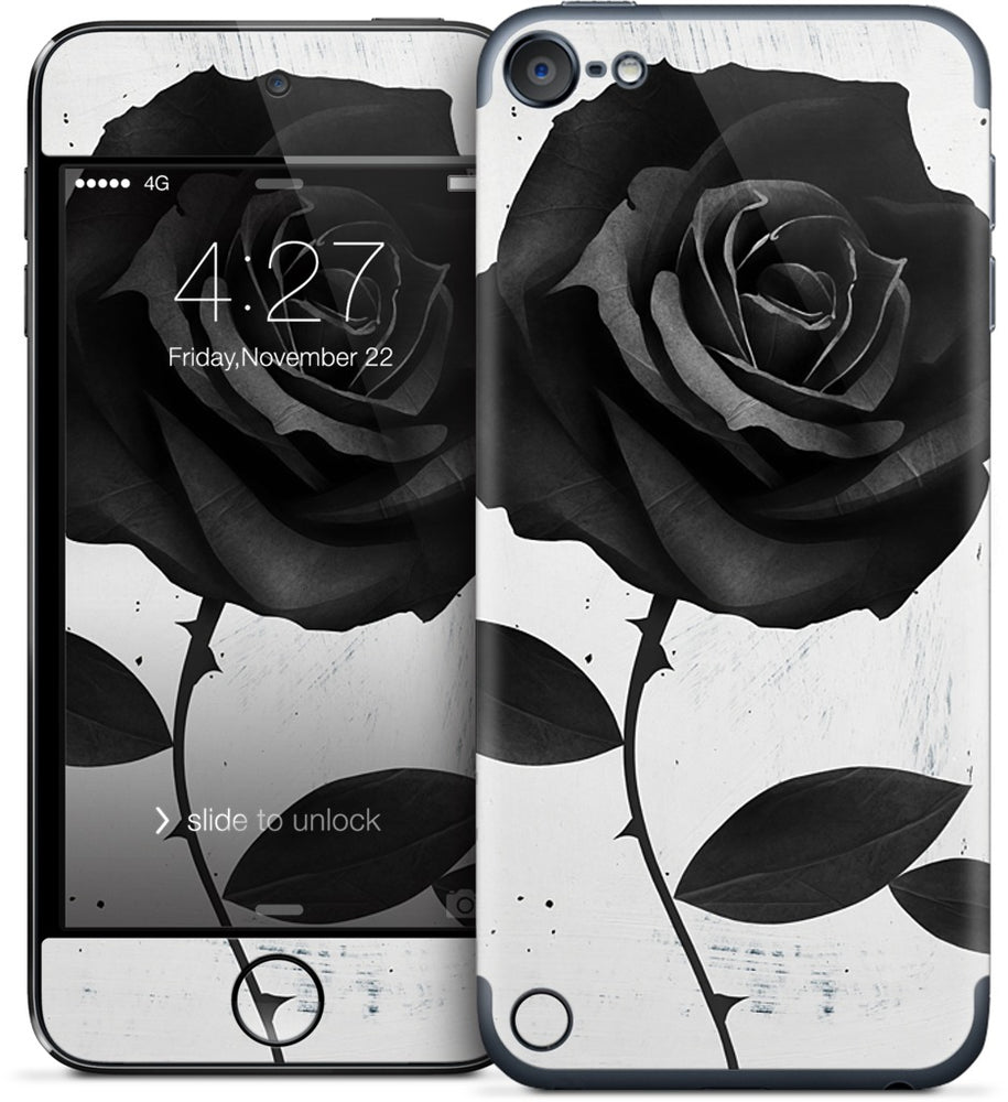 Fabric Rose iPod Skin