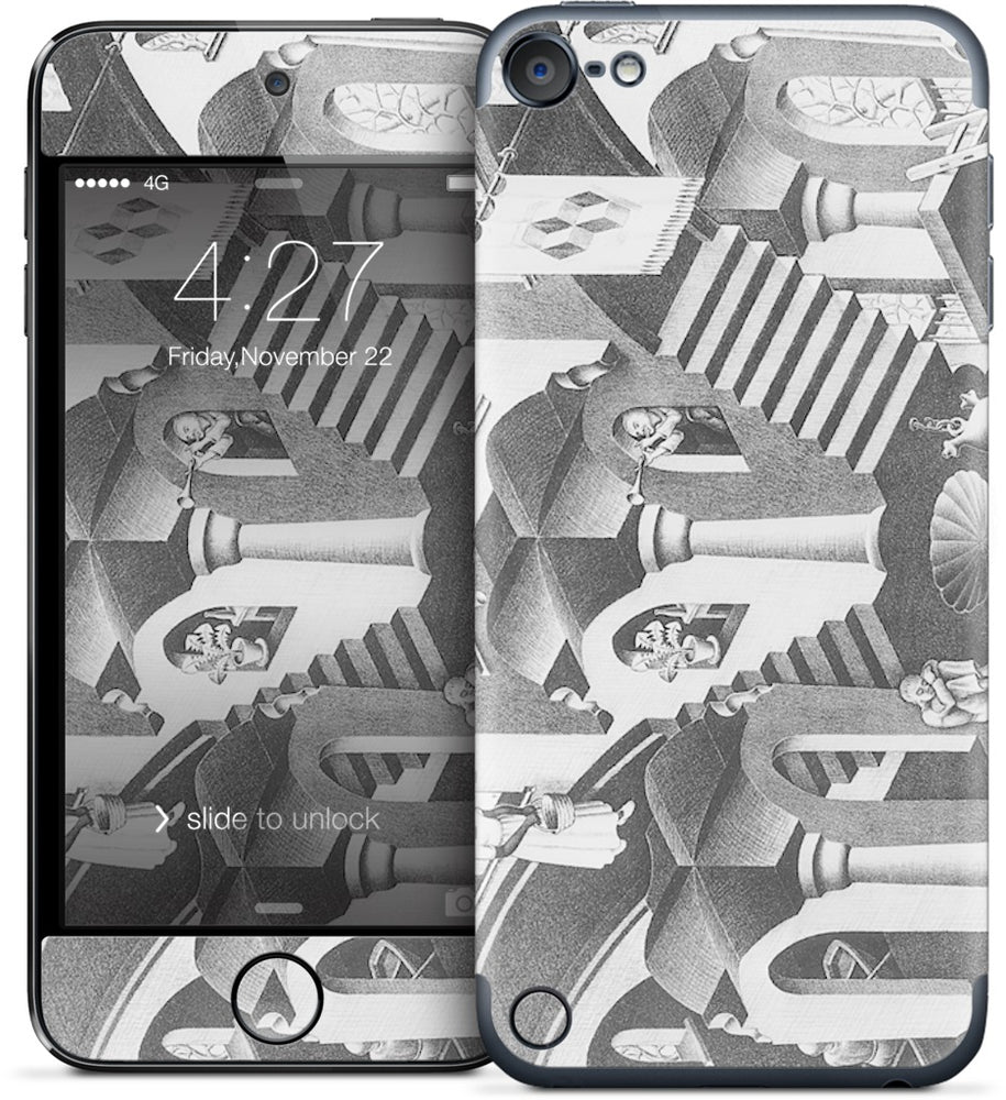 Concave and Convex iPod Skin