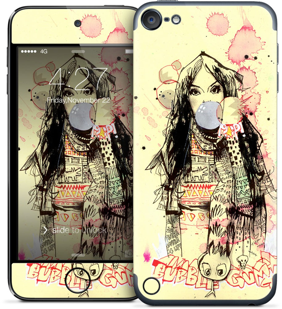 Bubble Gum Gangsters iPod Skin
