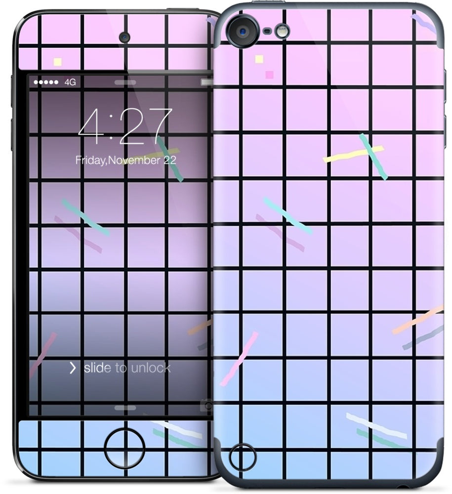 Gradation love iPod Skin