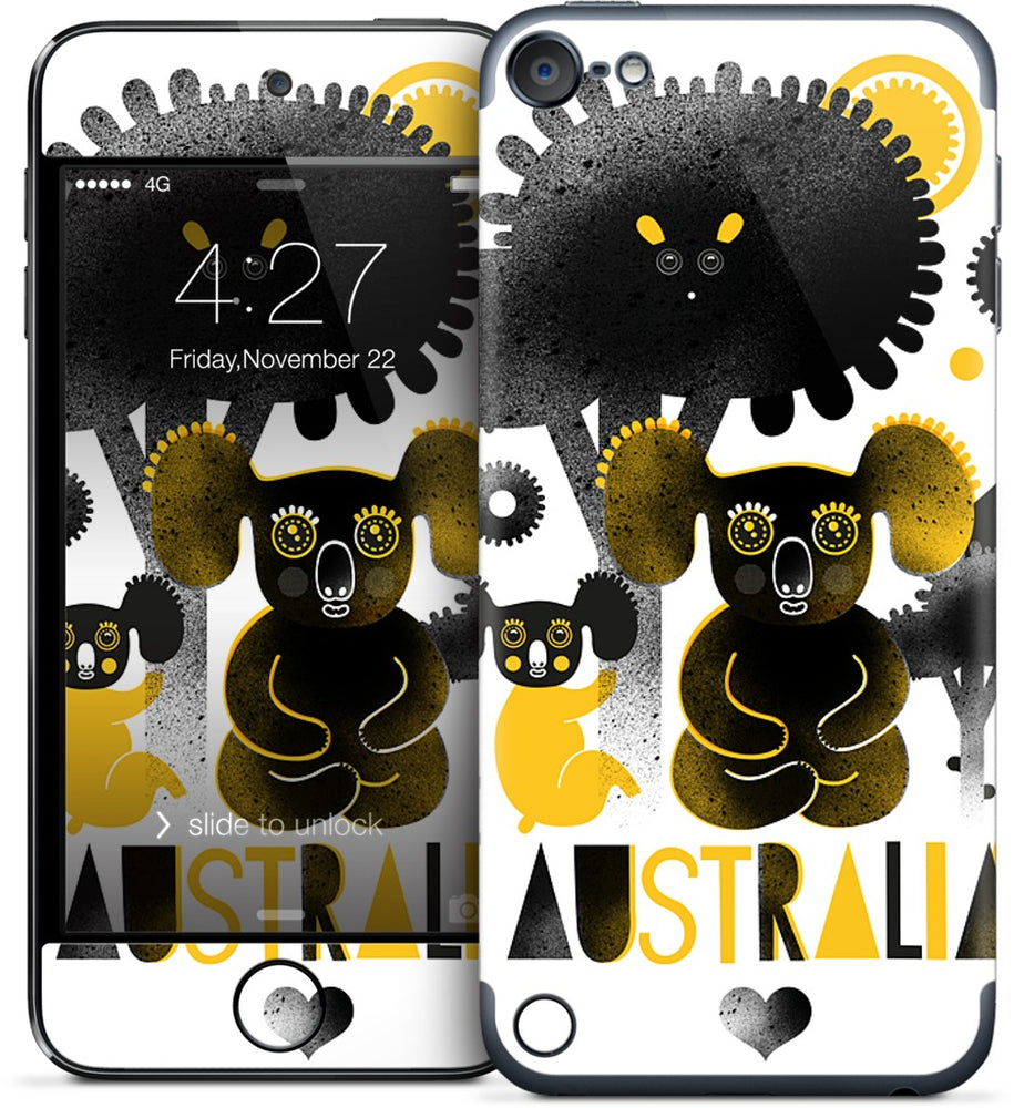 Happy Australia iPod Skin