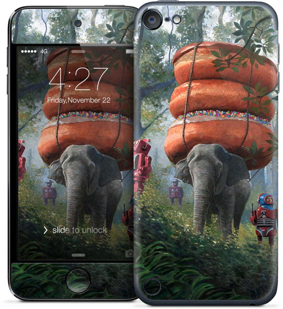 Jungle Trek iPod Skin