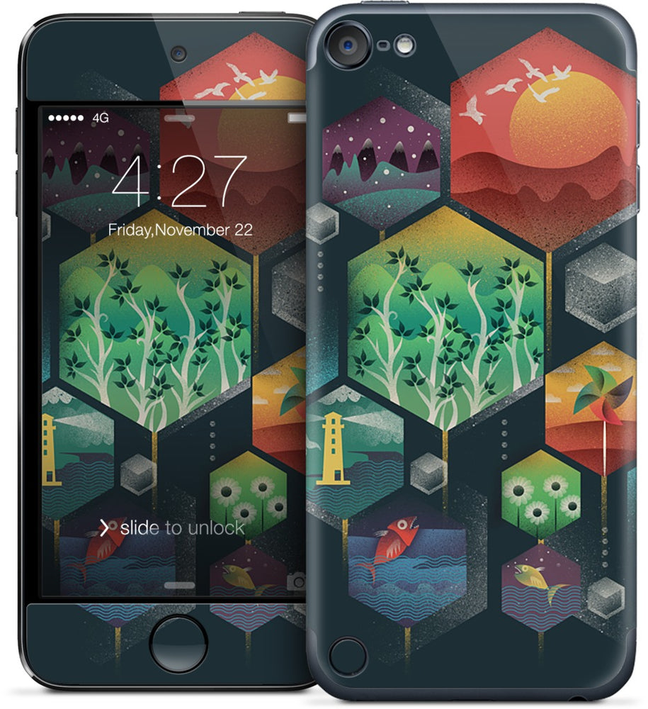 Geometrical Wonders iPod Skin