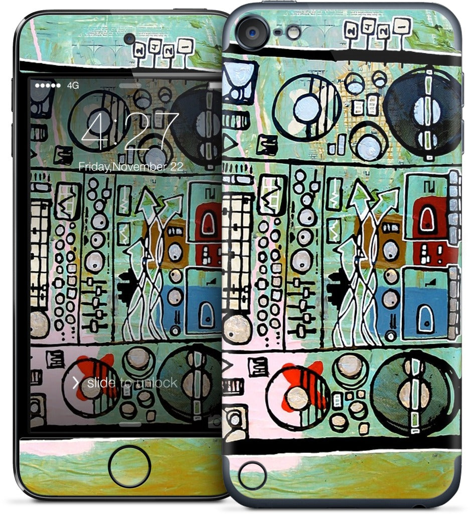 Ghetto Blaster iPod Skin