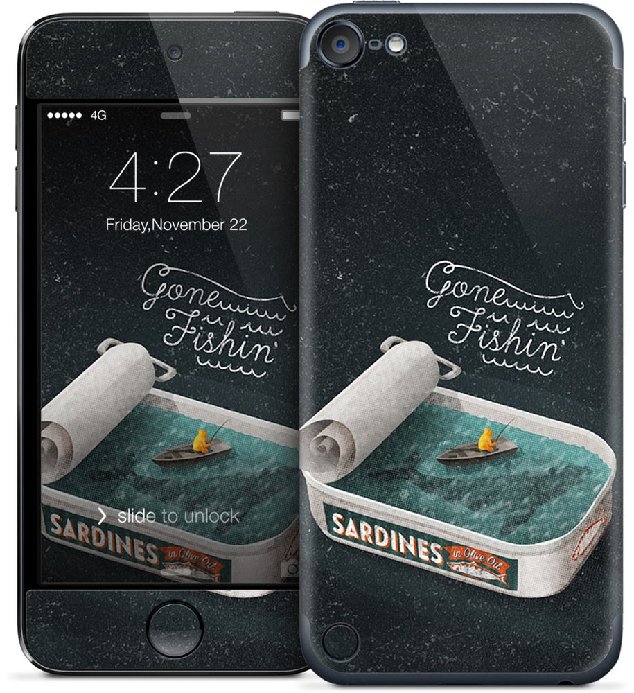 Gone Fishin' iPod Skin