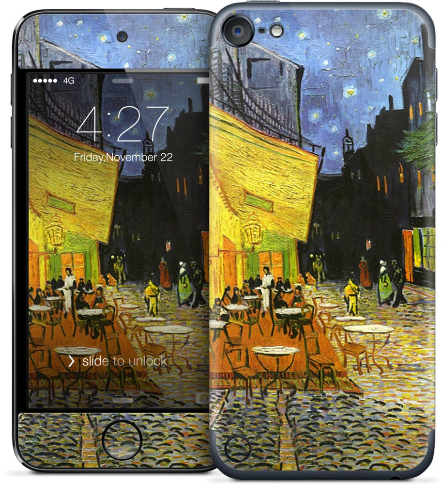 Cafe at Night iPod Skin