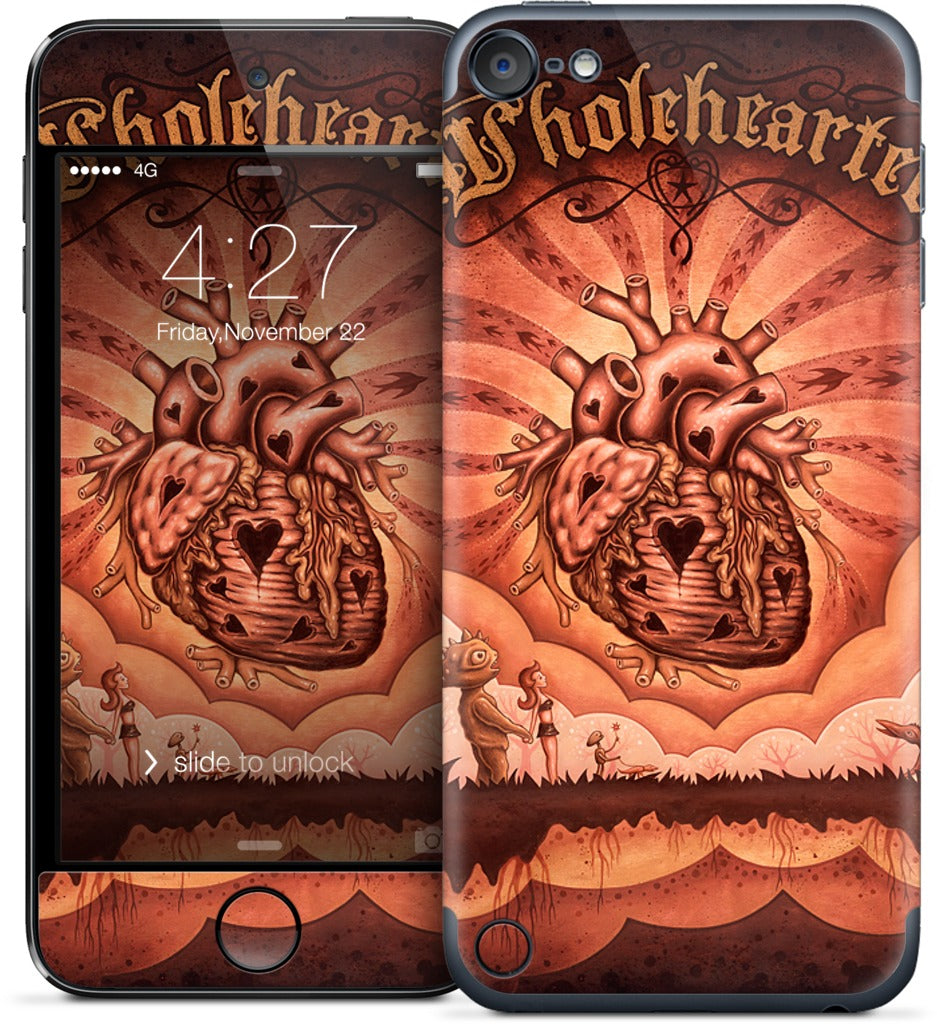 Wholehearted iPod Skin