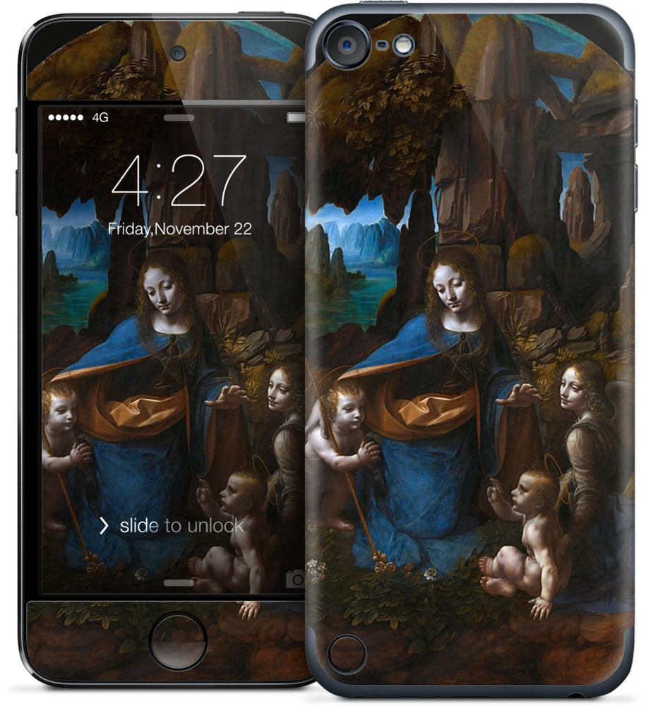 Virgin of the Rocks iPod Skin