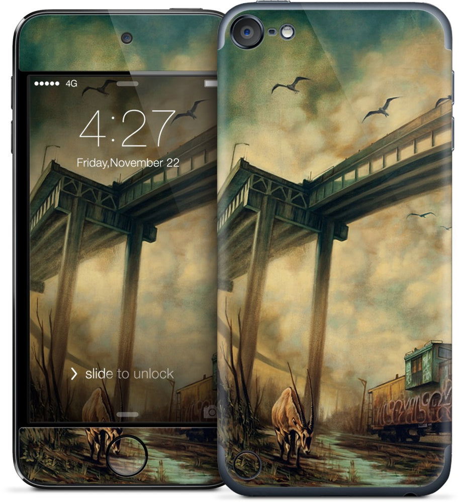 """The Lost Tracks"" iPod Skin"