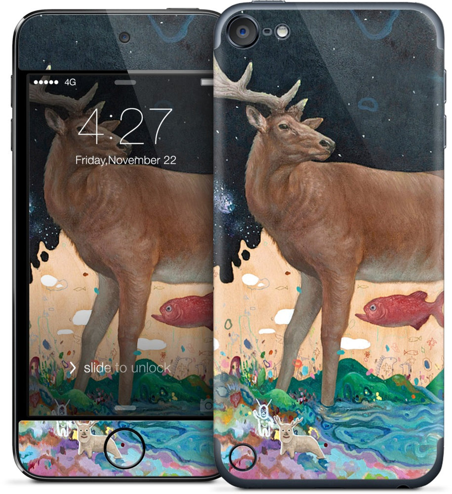 A Relieved Deer iPod Skin
