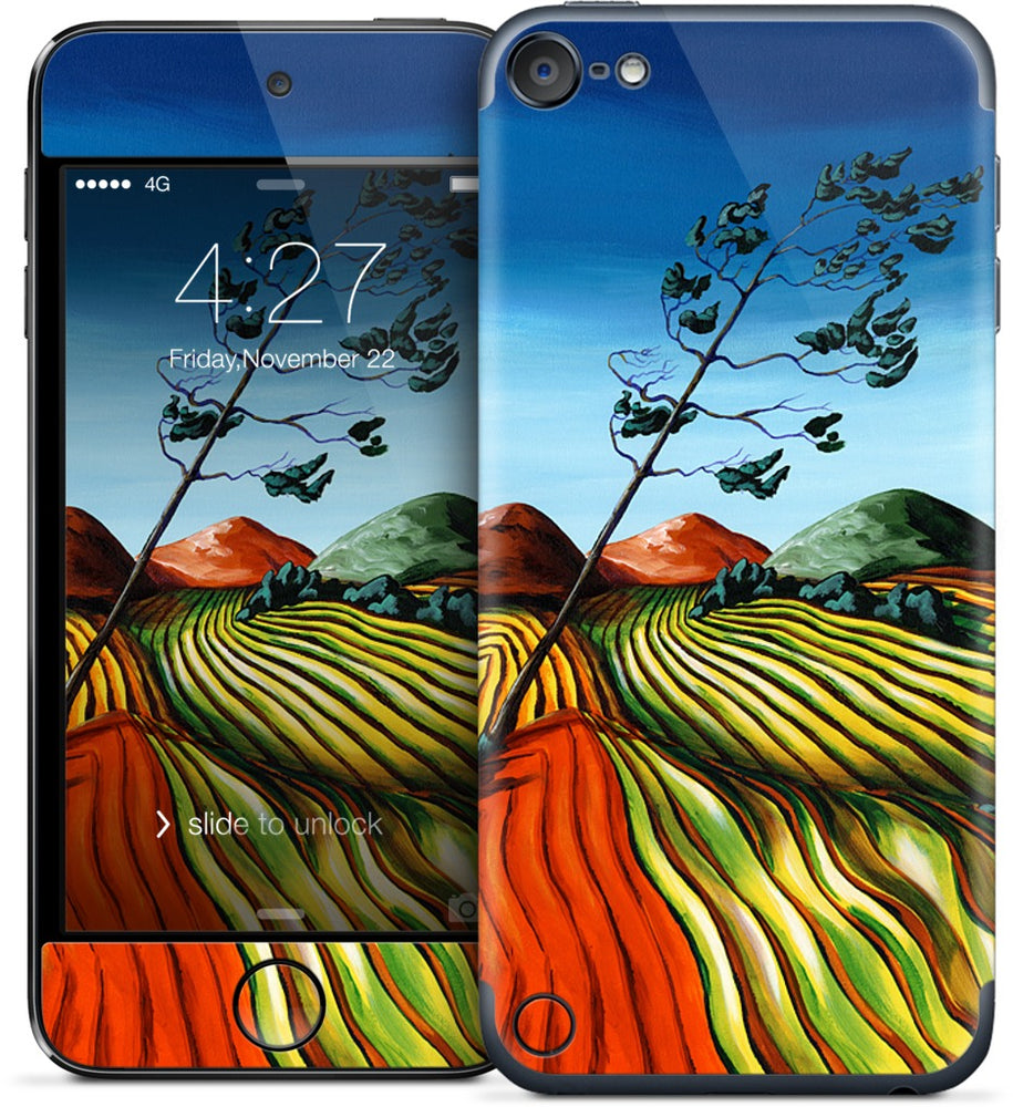 Windswept Fields iPod Skin
