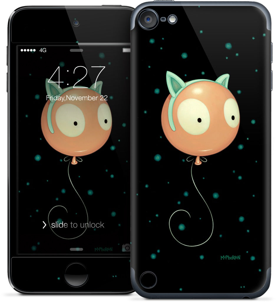 Wiggle Kitty iPod Skin