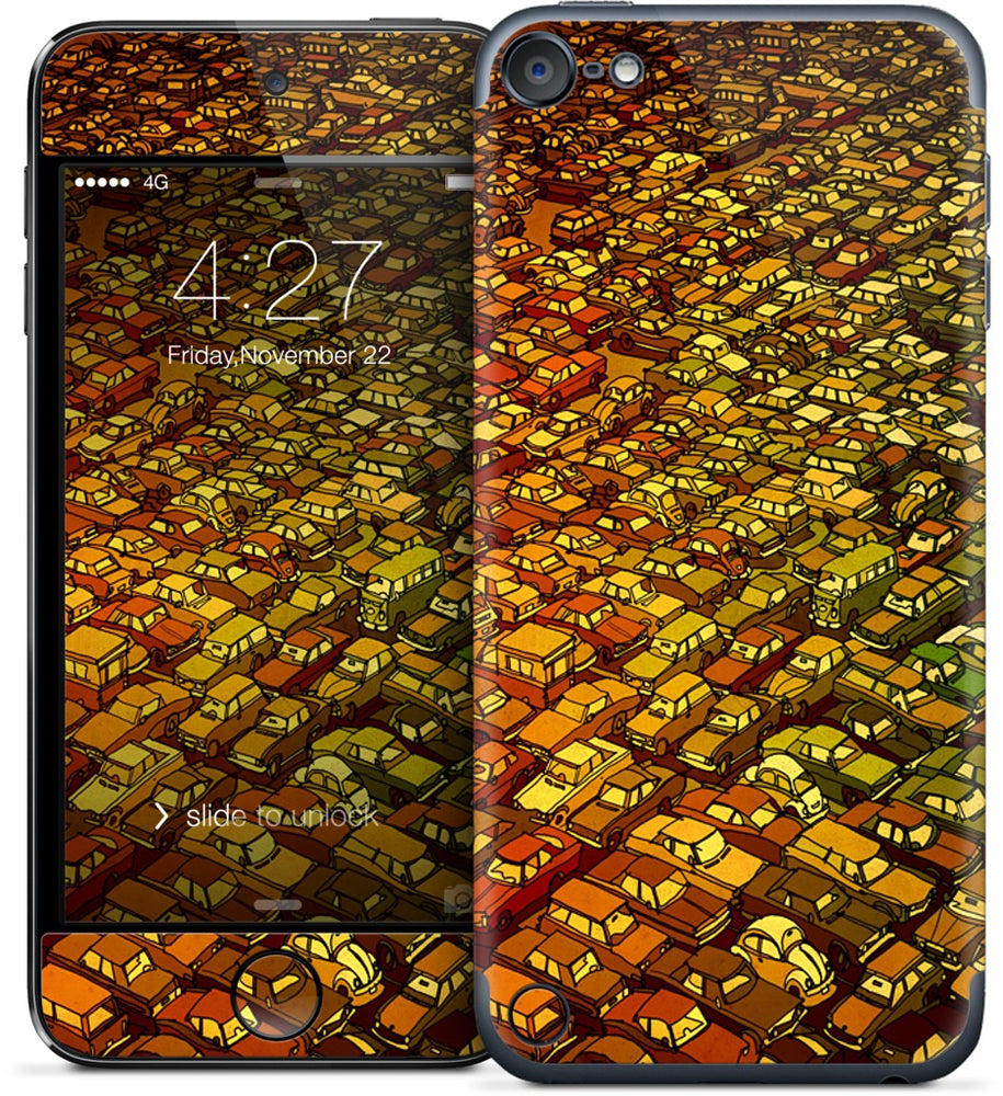 Rush Hour Traffic iPod Skin