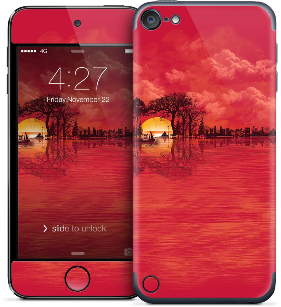 Musical Sunset iPod Skin