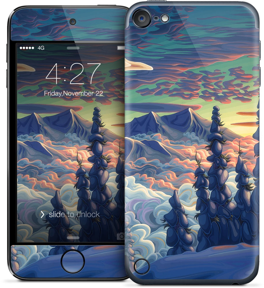 Mountains In My Mind iPod Skin