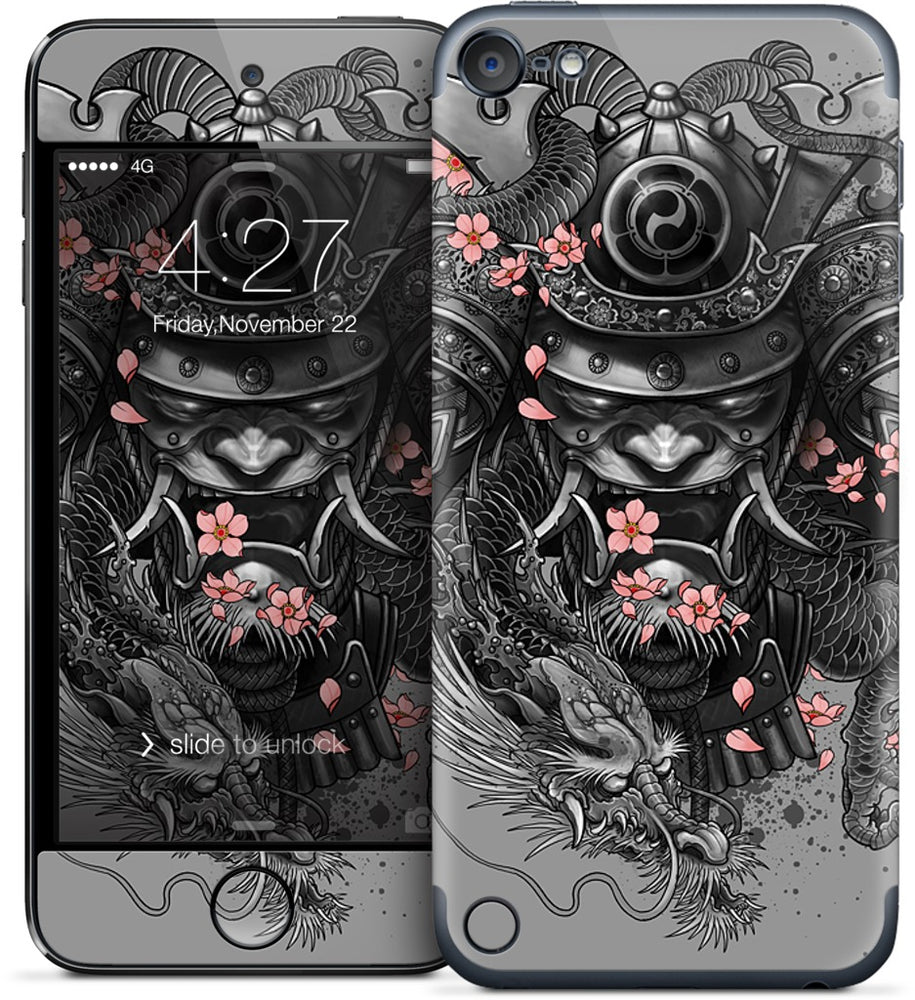 Samurai Dragon iPod Skin