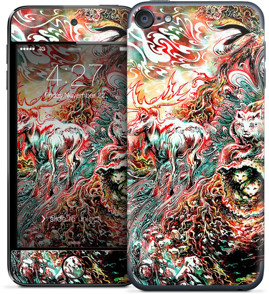 The Blood Machine iPod Skin