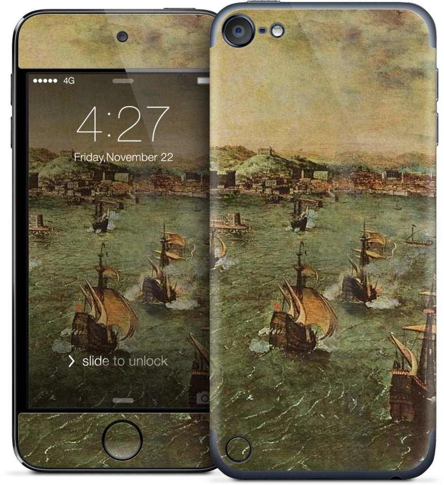 Naval Battle in the Gulf of Napless iPod Skin