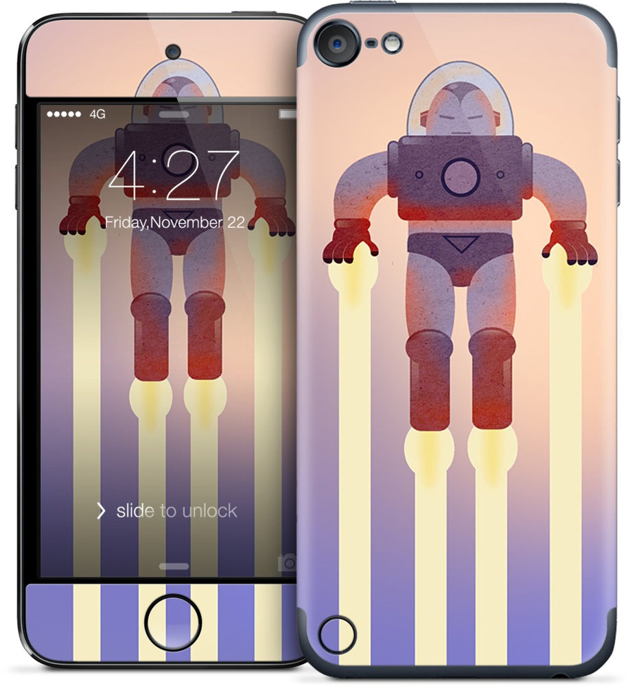 Red Spaceman iPod Skin