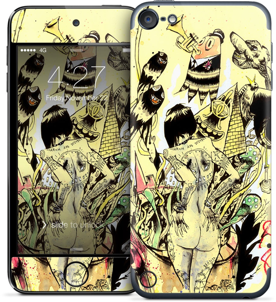 Search & Destroy iPod Skin