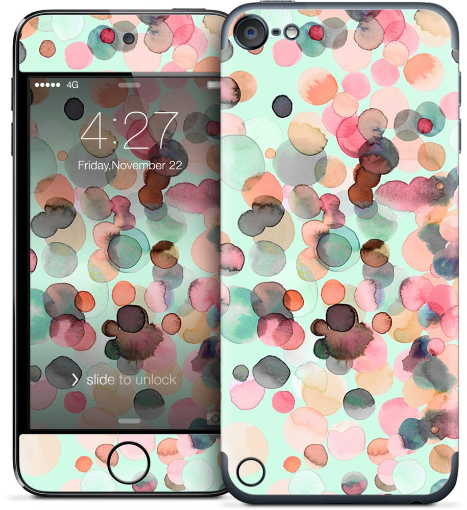Color drops iPod Skin