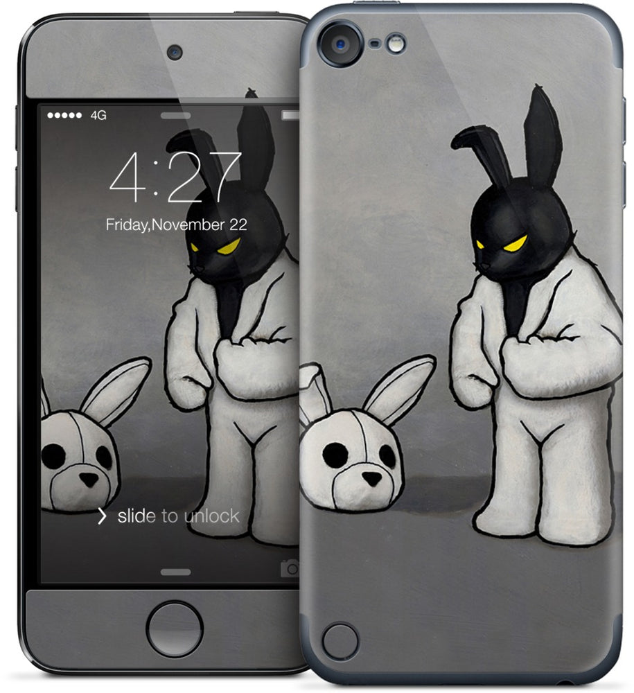 Black In White iPod Skin