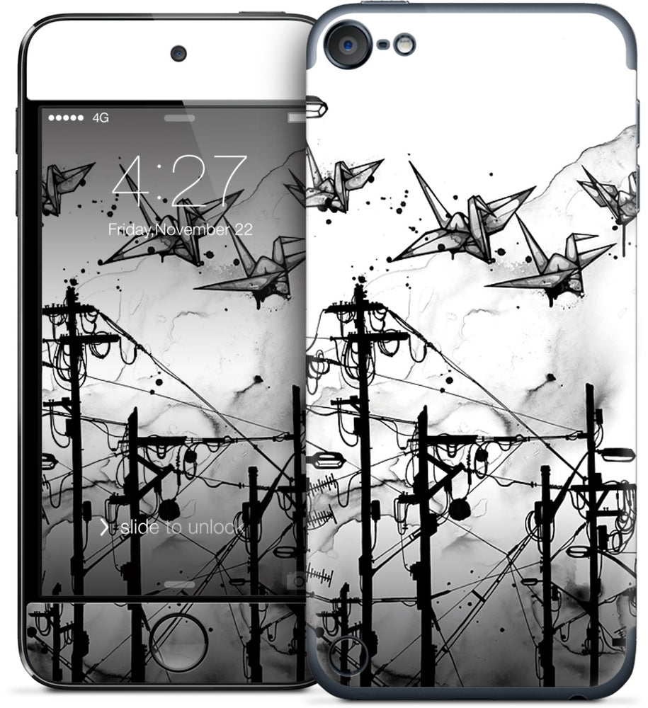 Cable Cranes iPod Skin