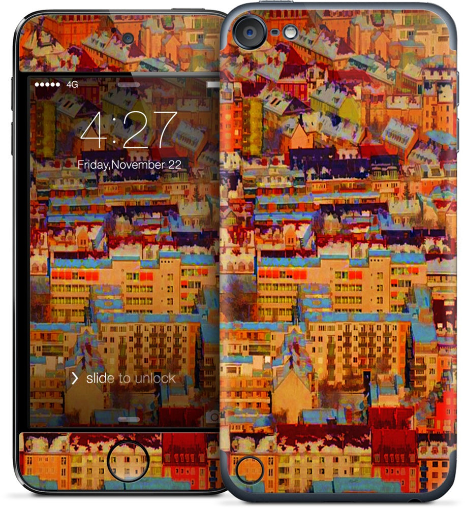 Munich in Winter iPod Skin