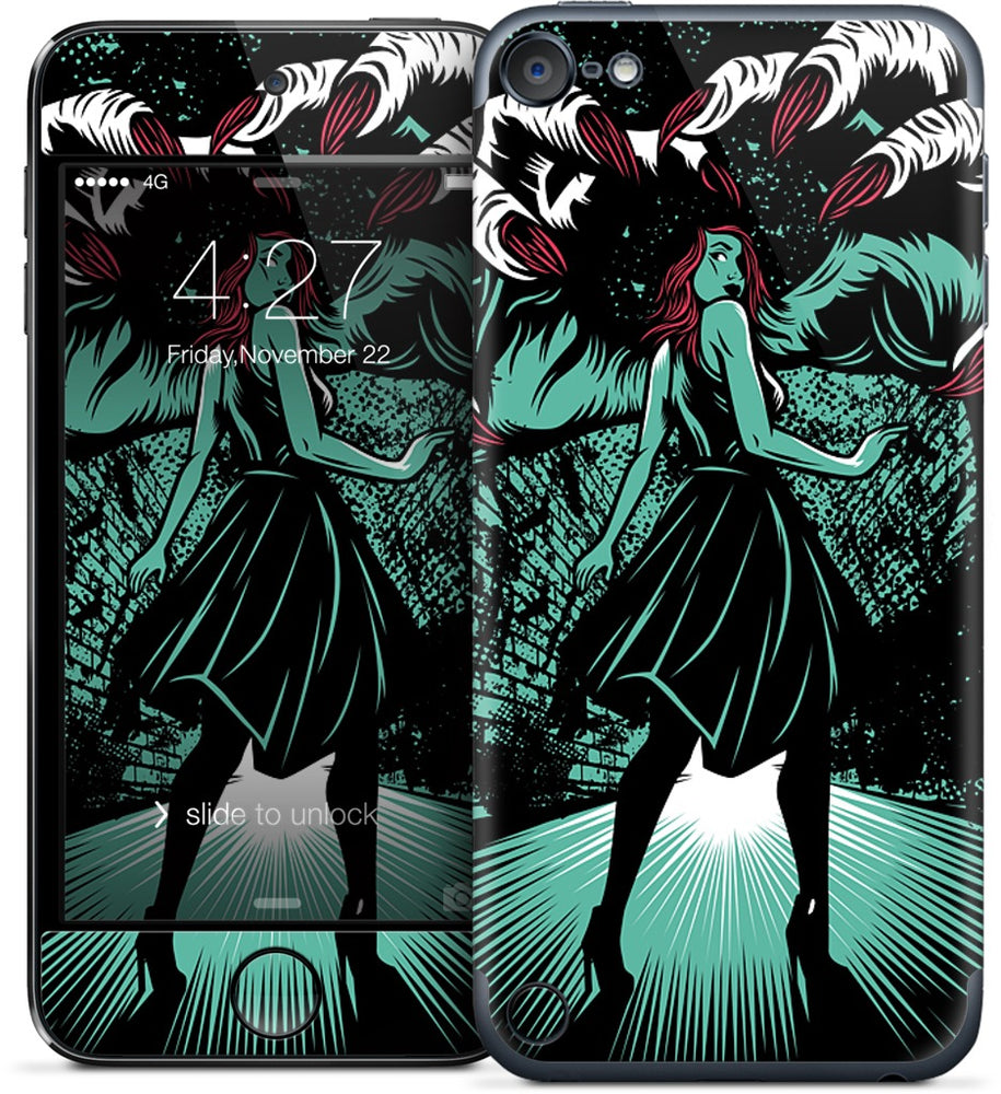Molly vs The Zombie iPod Skin