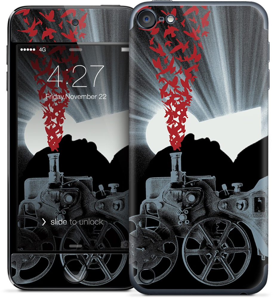 Seeing Red iPod Skin