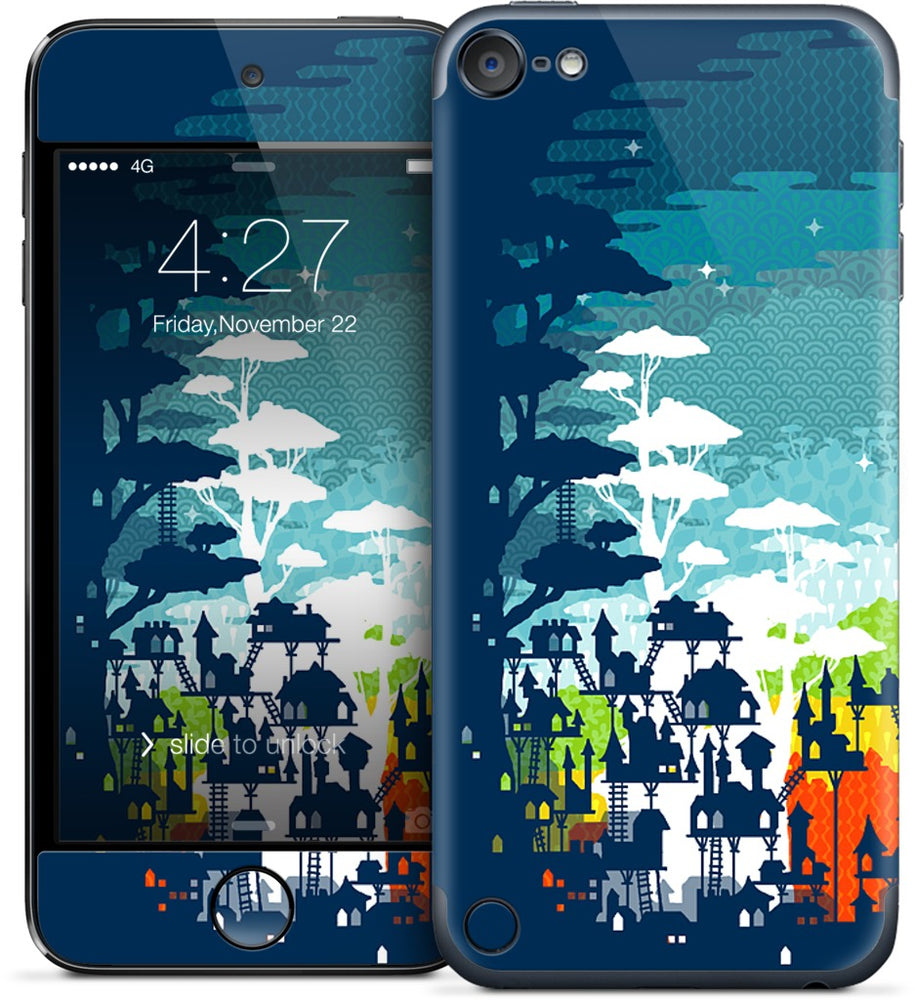 Rainforest City iPod Skin