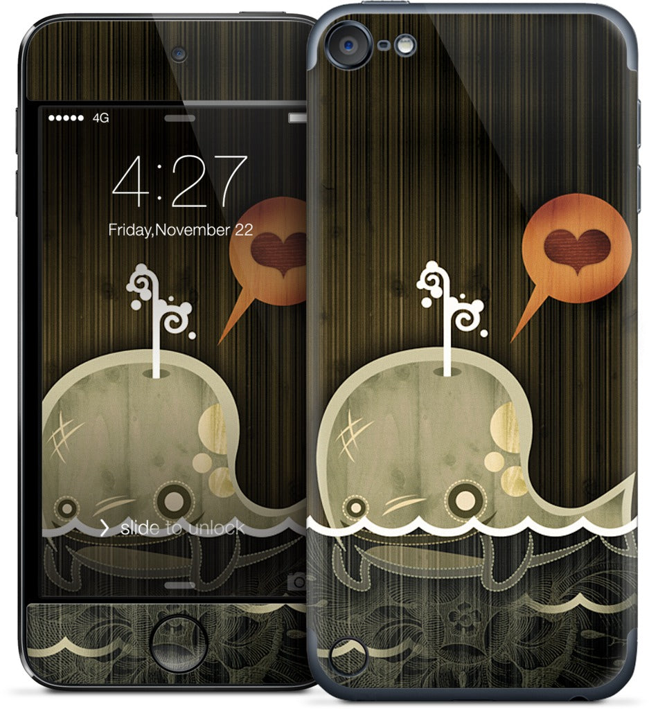 The Enamored Whale iPod Skin