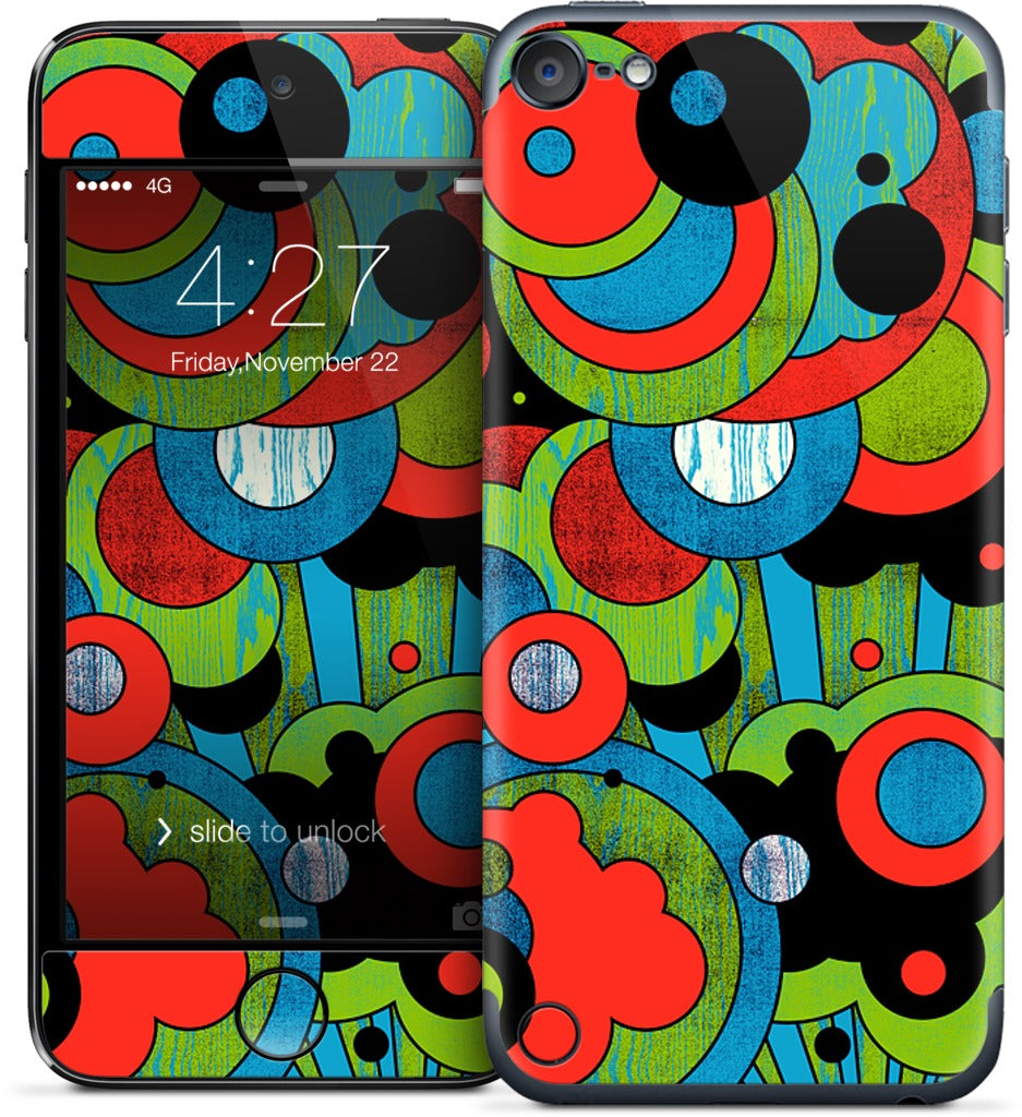 Shapes In Space iPod Skin
