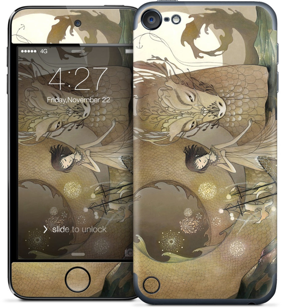 Water Dragon iPod Skin