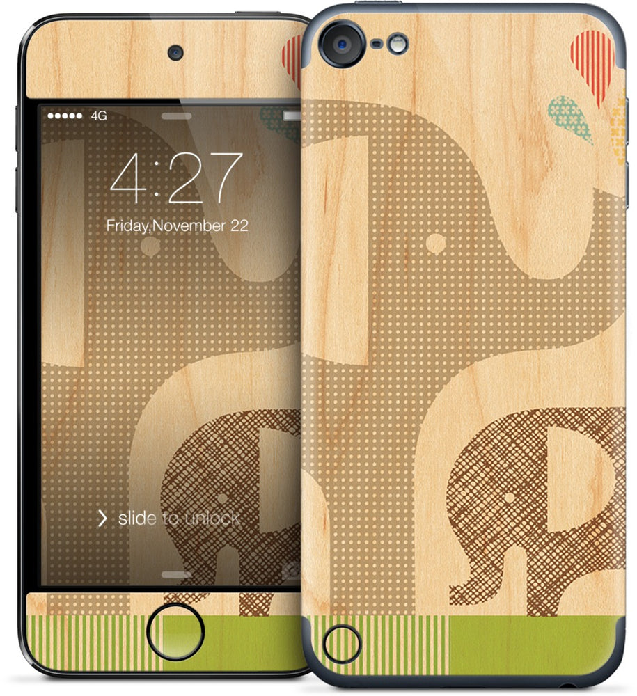 Elephant with Calf iPod Skin