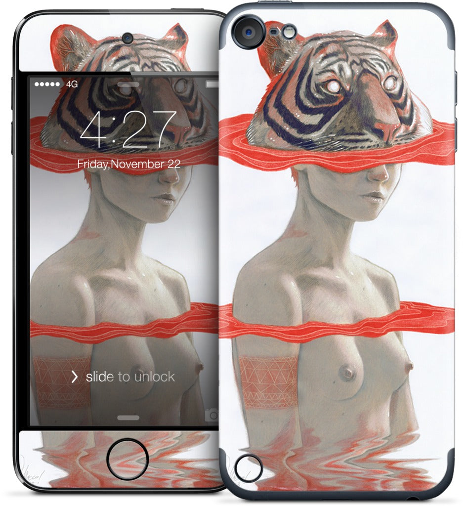 Tiger Girl iPod Skin