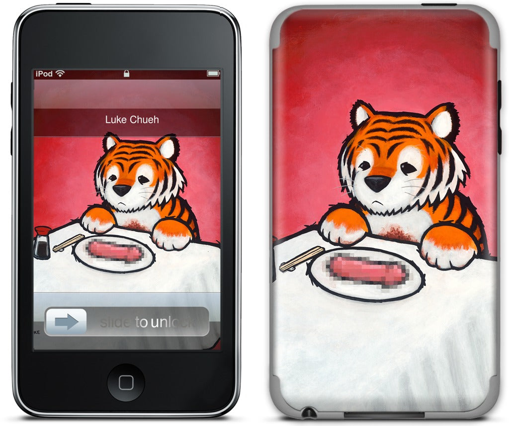 You Are What You Eat Tiger Penis iPod Skin