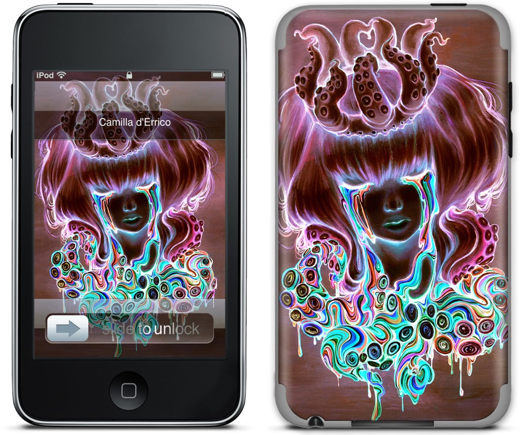 The Dream Melt Inverse iPod Skin