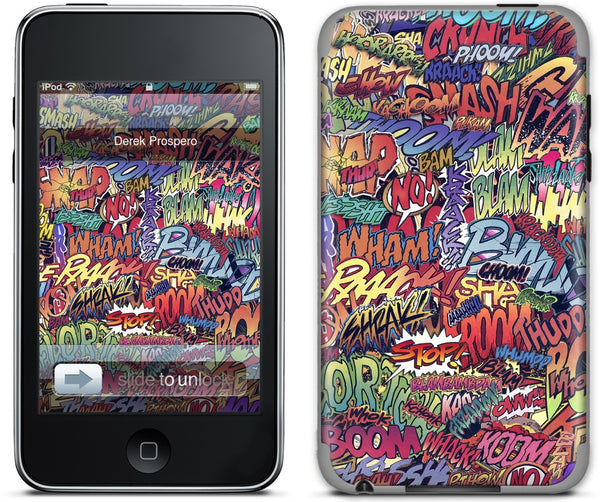 Action Packed iPod Skin
