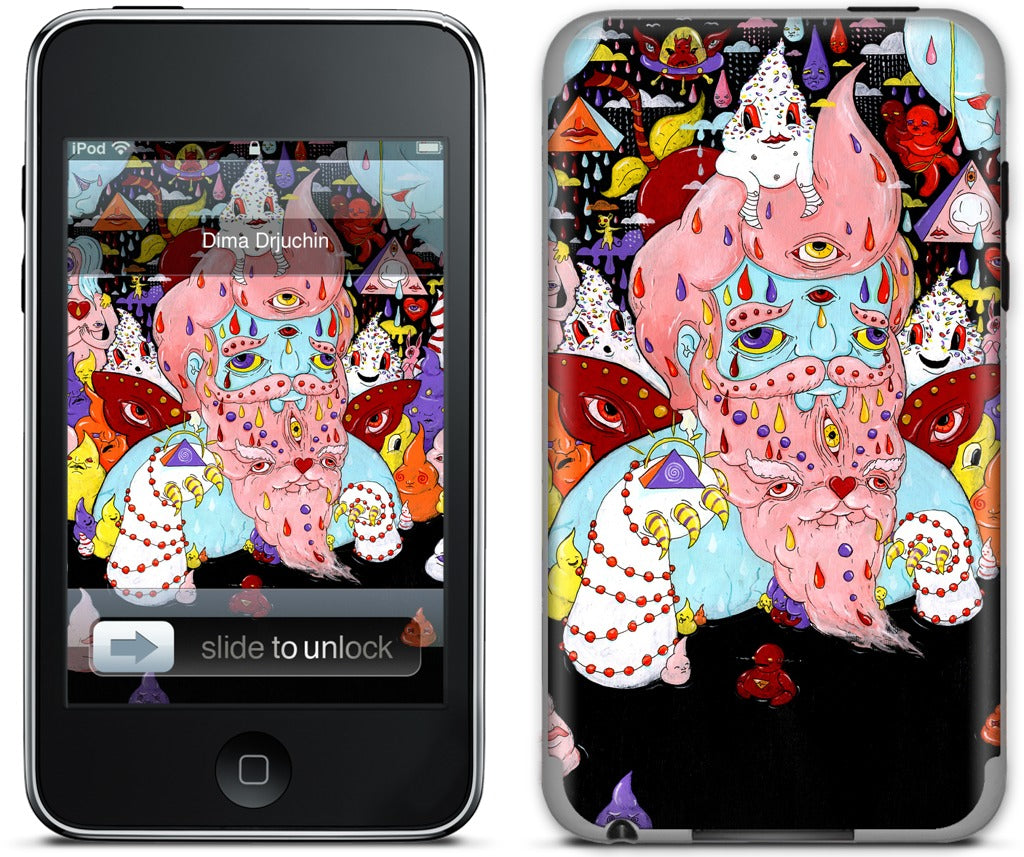 Candy Pope iPod Skin