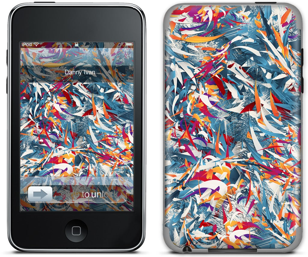 Excited Colours iPod Skin