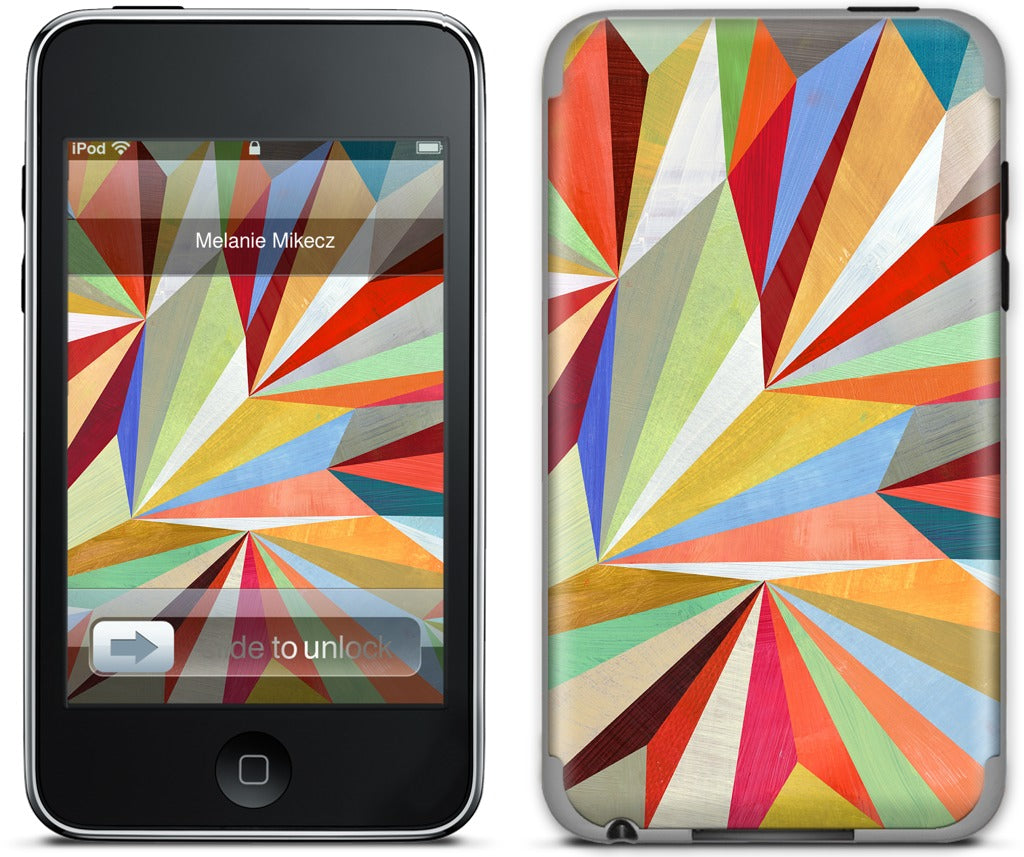 Paper Airplanes iPod Skin