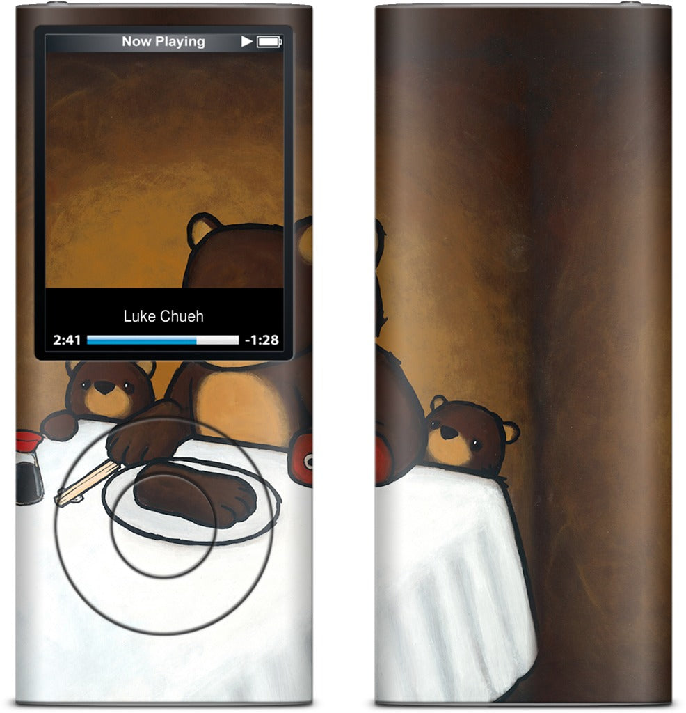You Are What You Eat Bear Paw iPod Skin