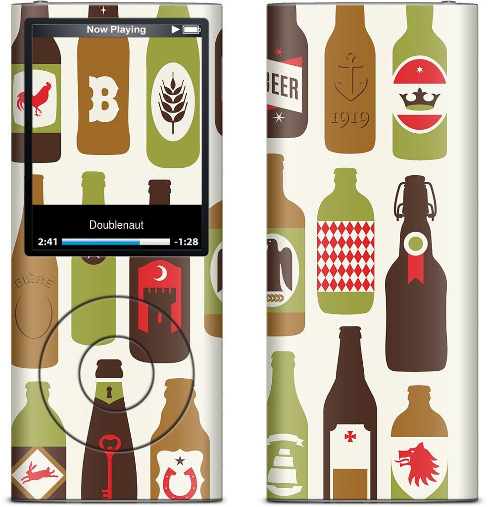 Bottled iPod Skin