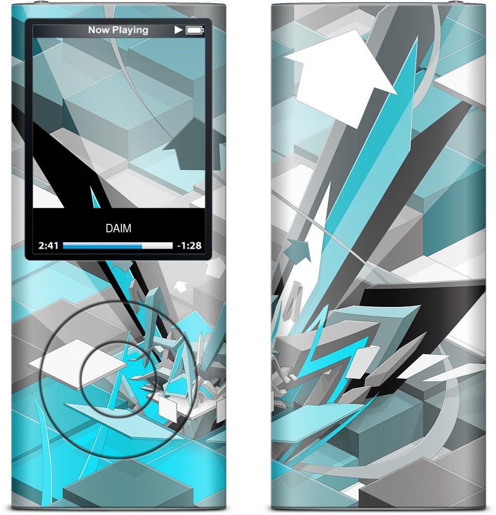 Up and Around iPod Skin