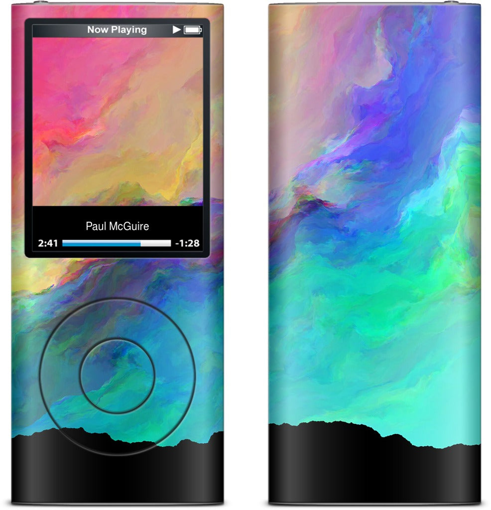 Night Aurora iPod Skin