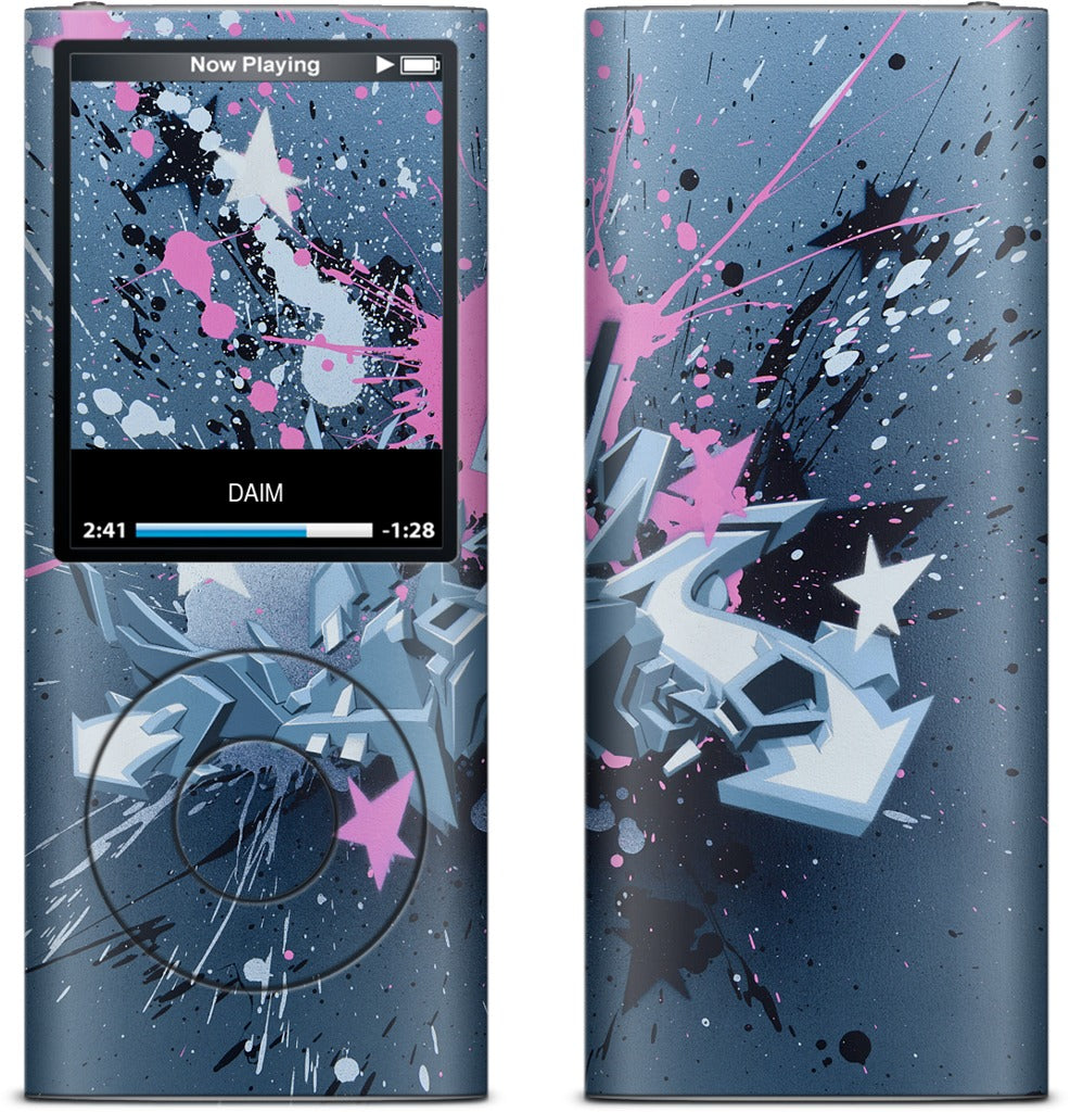Fancy Explosion iPod Skin