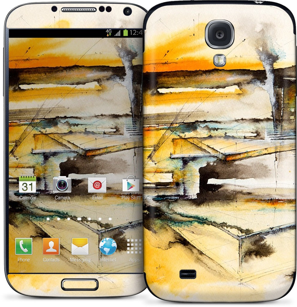 Private Spaces Samsung Skin
