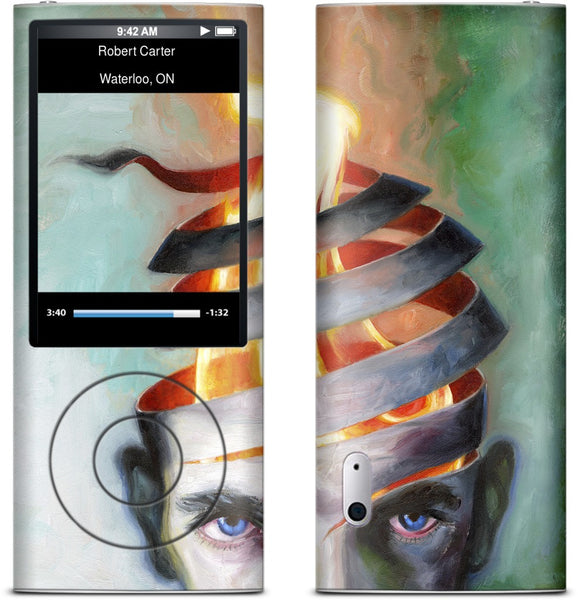 Unravelling Fire iPod Skin
